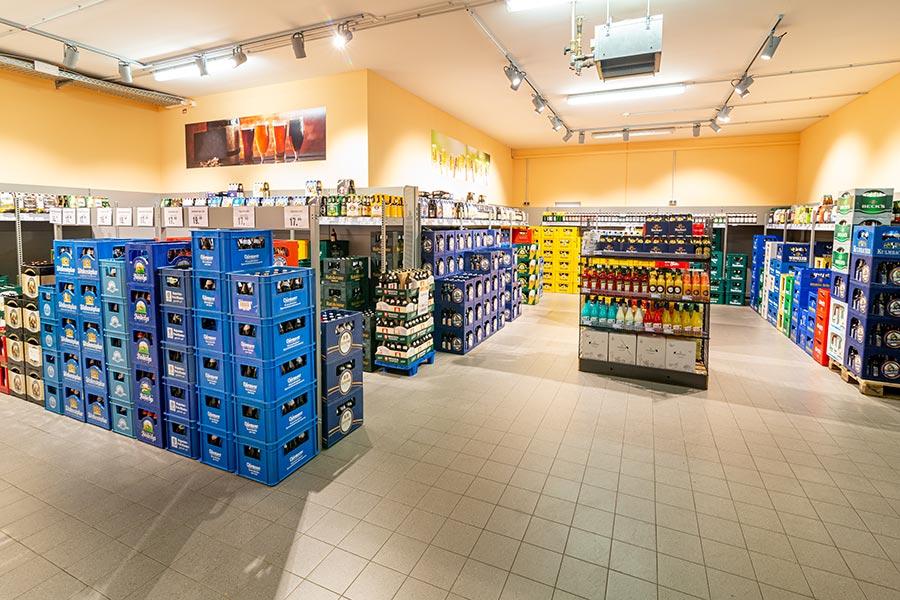 Getränke im EDEKA in Ursensollen